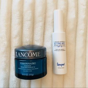 New Lancôme Visionnaire and Supergoop Bundle